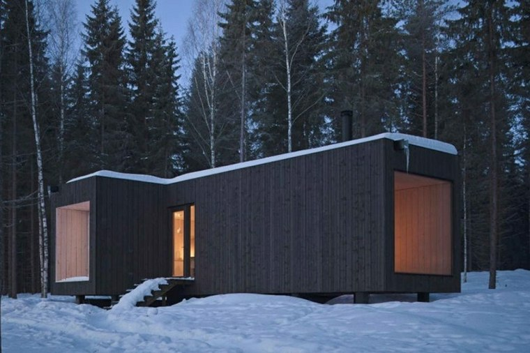 casa prefabricada estilo minimalista