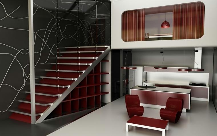 casas modernas por dentro-cocinas