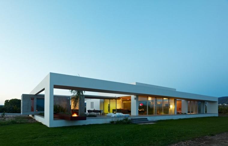 Casas minimalistas de una planta dise os modernos y for Casas modernas de una planta minimalistas