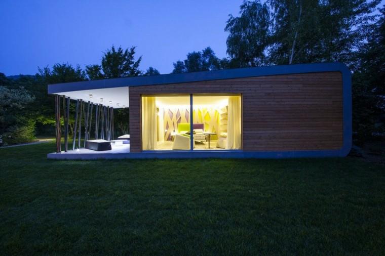 estupendos diseños de casas minimalistas de una planta
