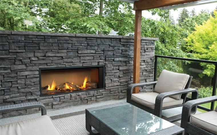 chimeneas modernas-decorar-jardines
