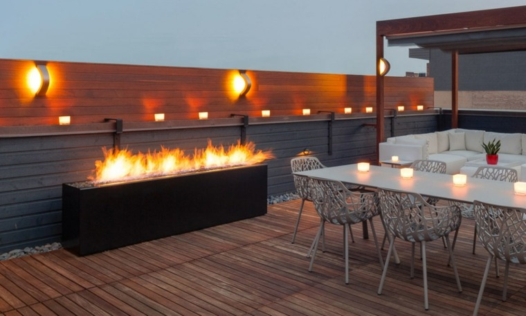 chimeneas modernas-elegantes-terrazas