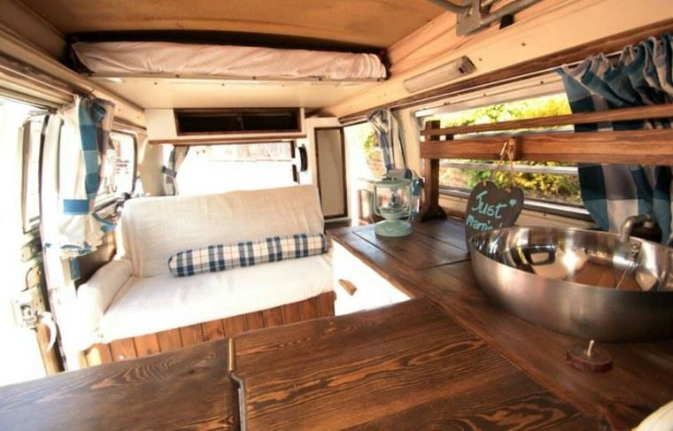 Ideas de diseño de interiores de furgonetas