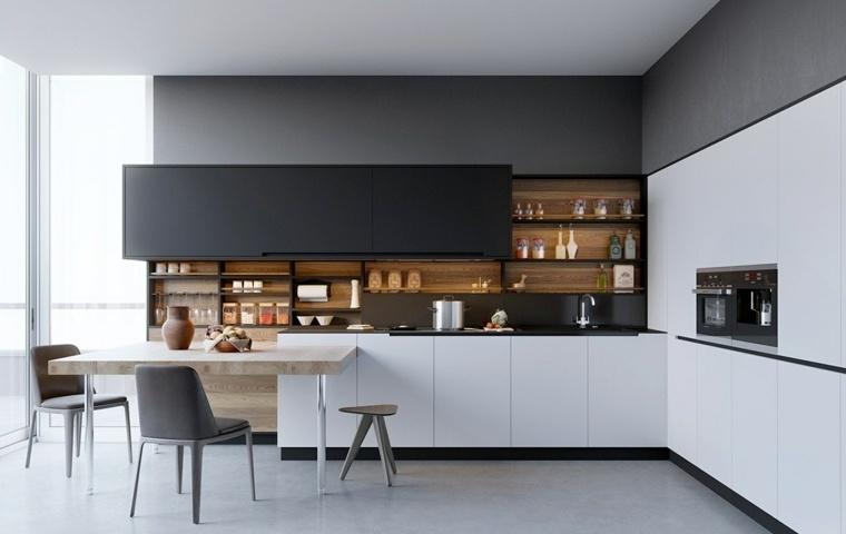 Modelos De Cocinas Tendencias De Moda En 2018 - Tendencias-cocinas