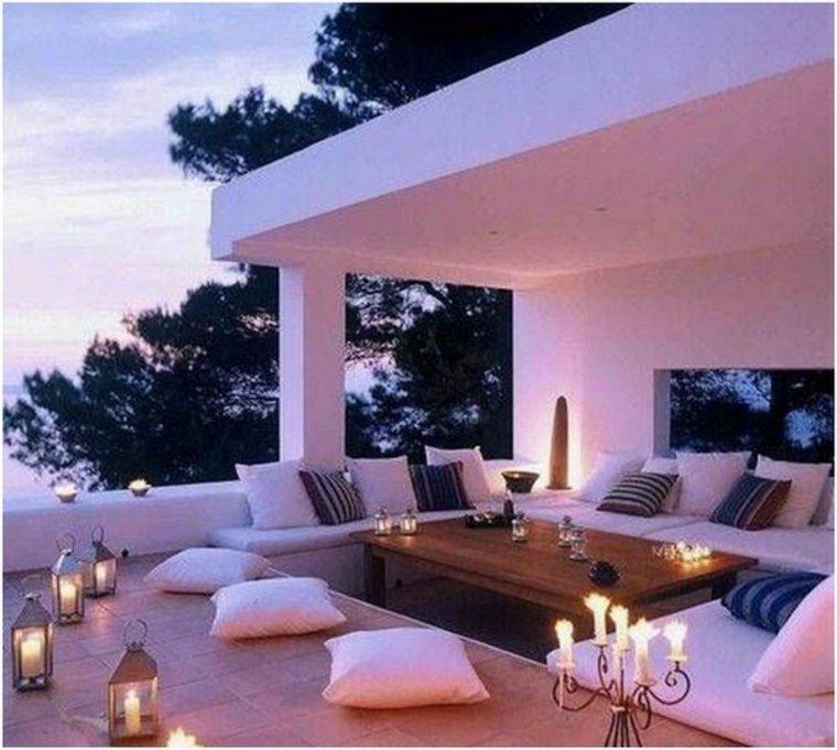 bonitas terrazas de estilo chill out
