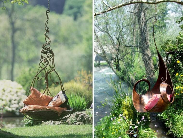 columpios para jardín de-diseño
