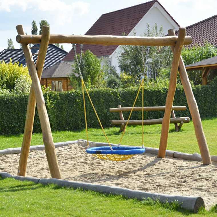 columpios para jardín de-niños