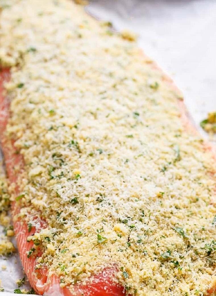 como cocinar salmon queso