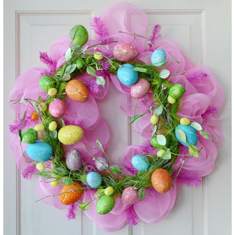 como hacer huevos de pascua-decorados