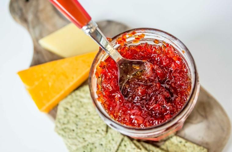 como hacer mermelada de pimiento rojo en casa