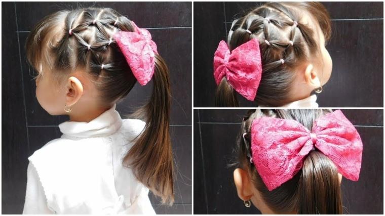 como hacer peinados para ninas-modernos
