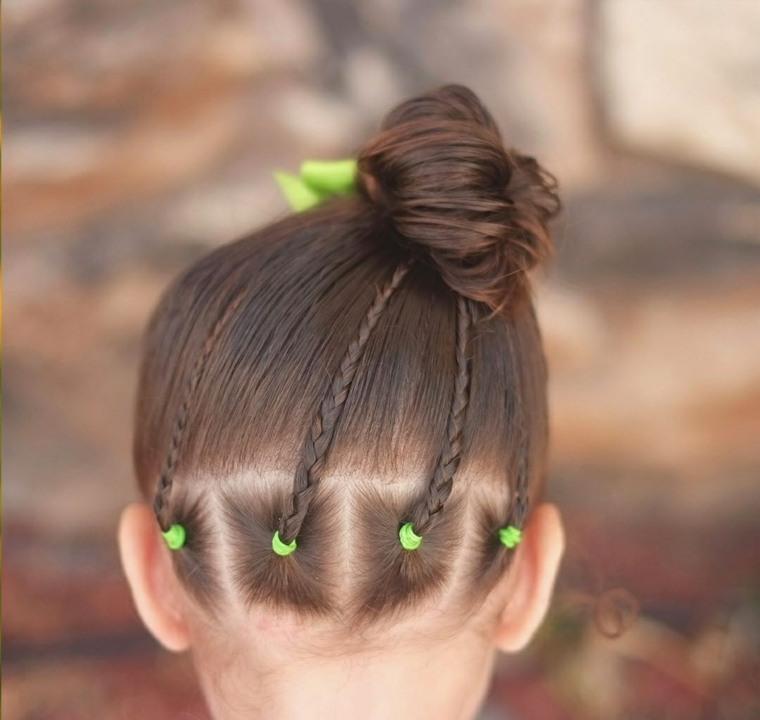 como hacer peinados para ninas-originales