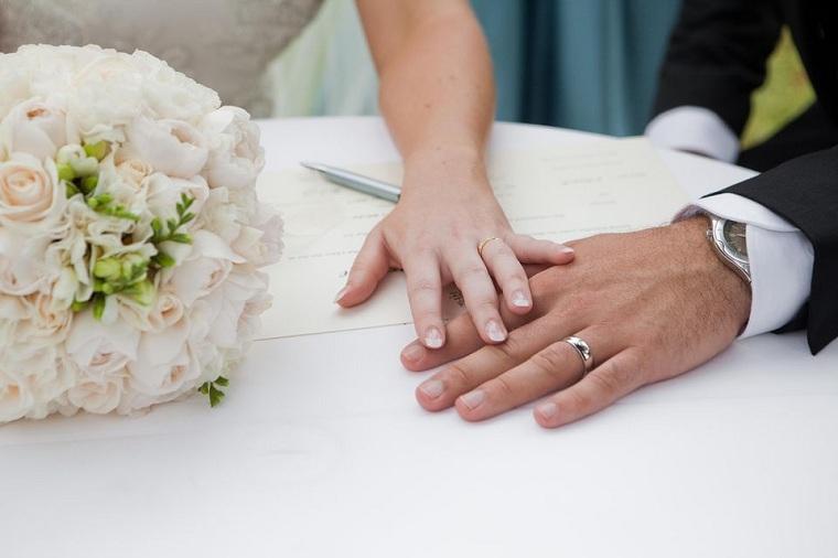 cómo planear una boda marido-mujer