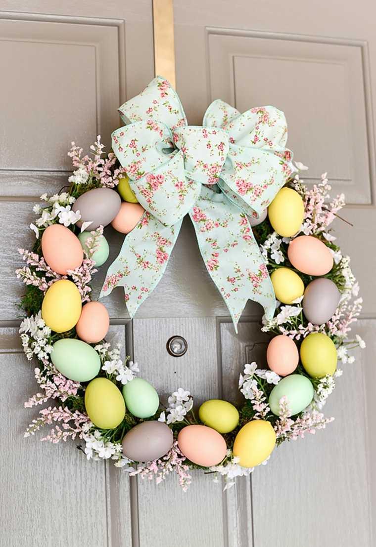conejo de pascua-huevos-decorados