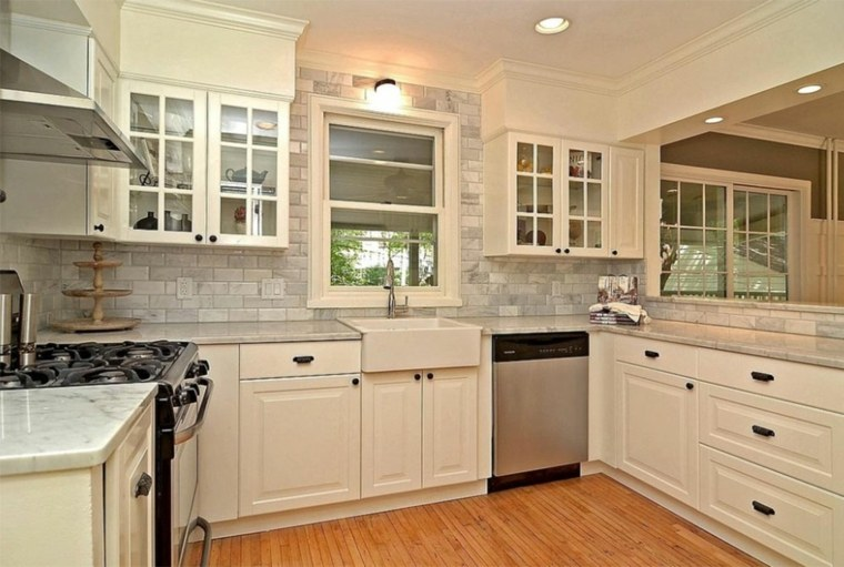 conjunto de gabinetes de cocina