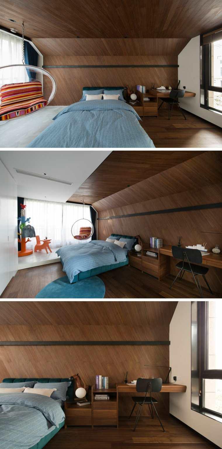 la madera es agradable para un cuarto infantil