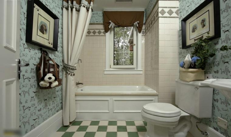 decoración-baño-idea