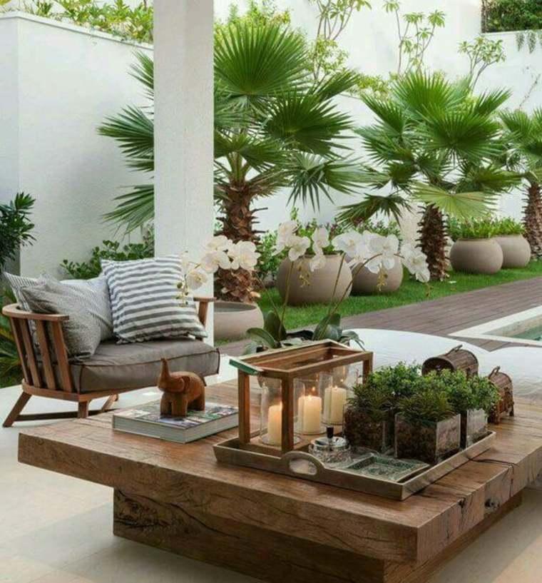 terrazas de estilo chill