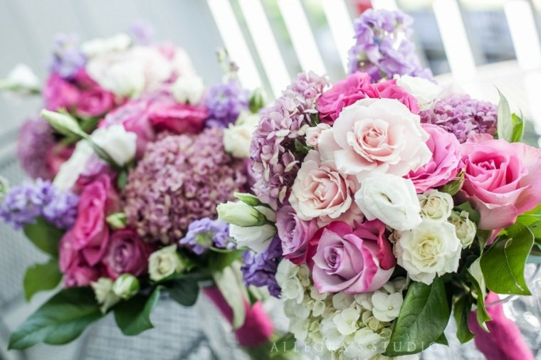 decoracion con flores-bodas