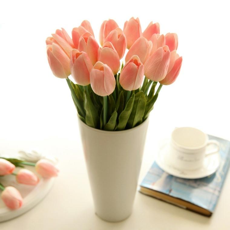 decoracion con flores-interiores-modernos