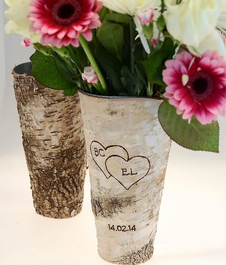 decoracion con flores-jarrones-primavera