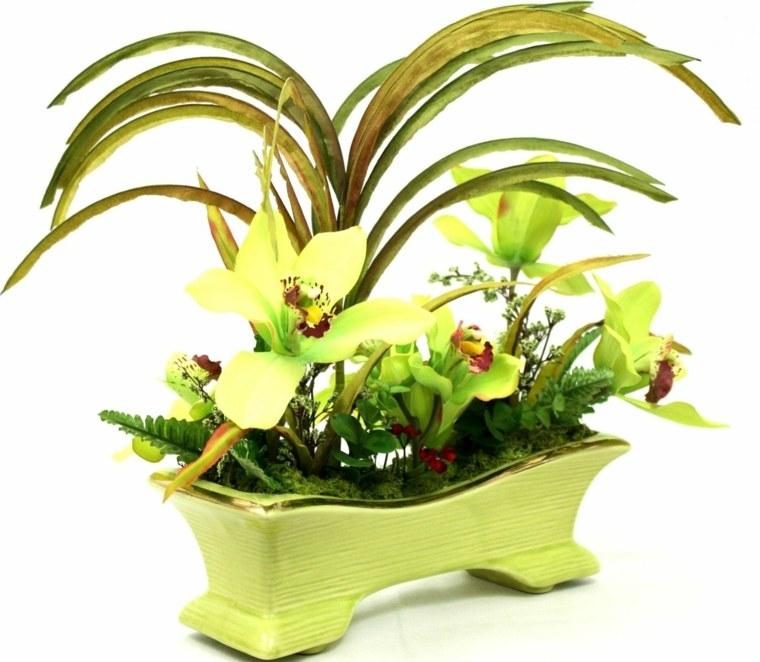 decoracion con flores-moderna-interior