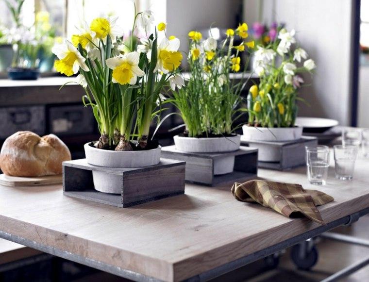 decoracion con flores-primavera-interior