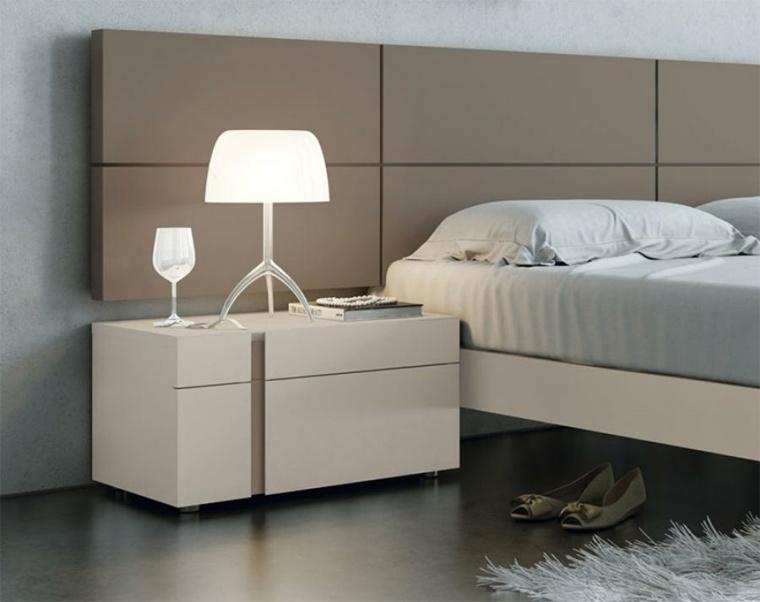 decoracion de dormitorios-modernos-mesitas