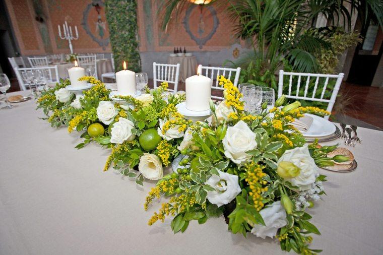 decoracion de flores-mesas-bodas