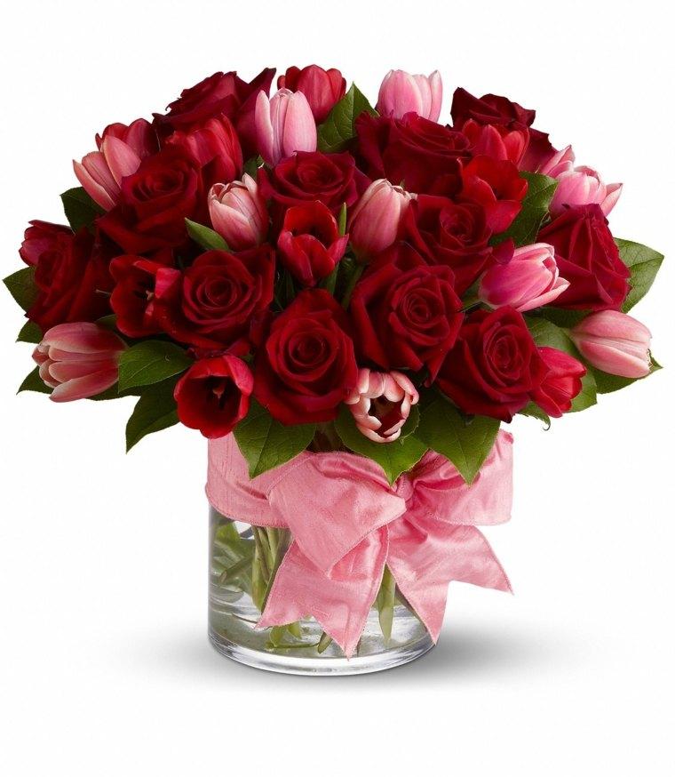 decoracion de flores-rojas-bodas