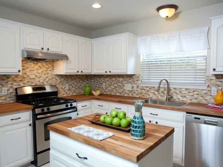 decoracion de interiores de casas-cocinas