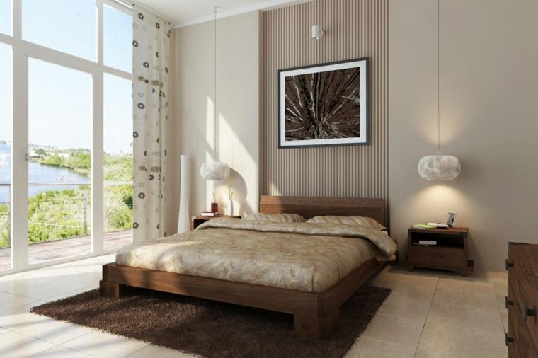 decoracion de interiores de casas-dormitorios