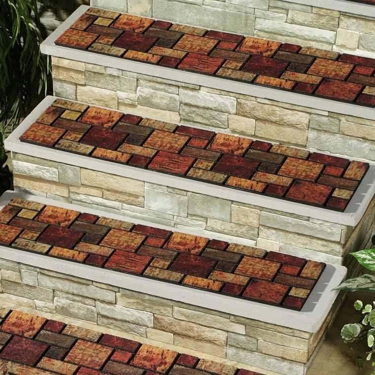 decoracion de jardines-escaleras-piedras