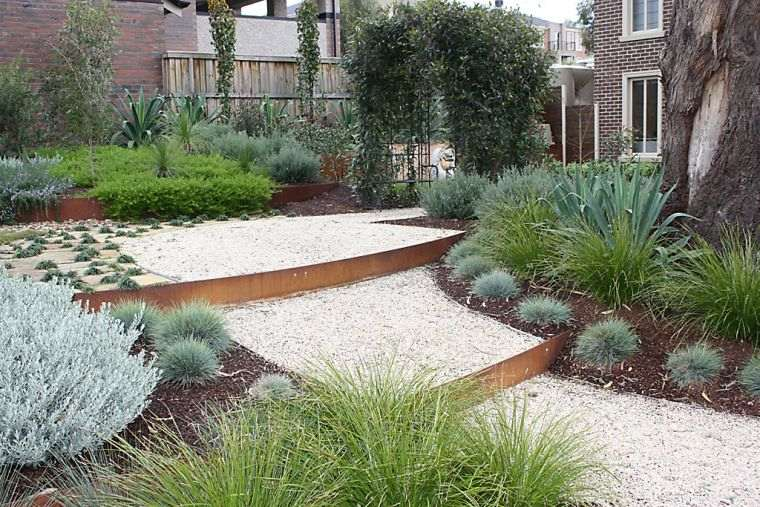 decoracion-jardines-ideas-escaleras-opciones-grava