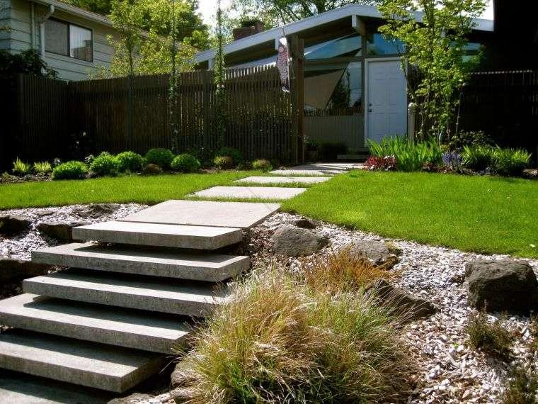 decoracion-jardines-ideas-escaleras-opciones-losas-flotantes