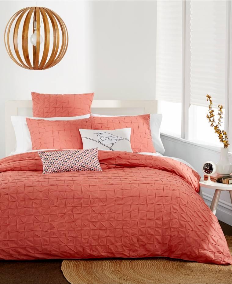 decoraciones para cuartos-pequenos-naranja