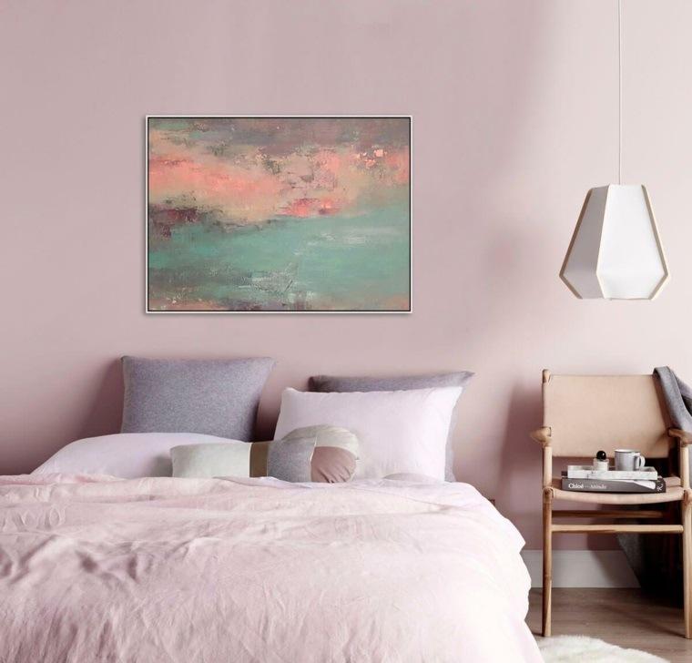 decoraciones para cuartos-pequenos-rosa