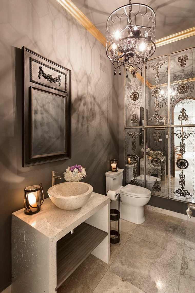 Tendencias actuales el estilo mediterr neo moderno en el dise o de ba os - Tendencias en cuartos de bano ...