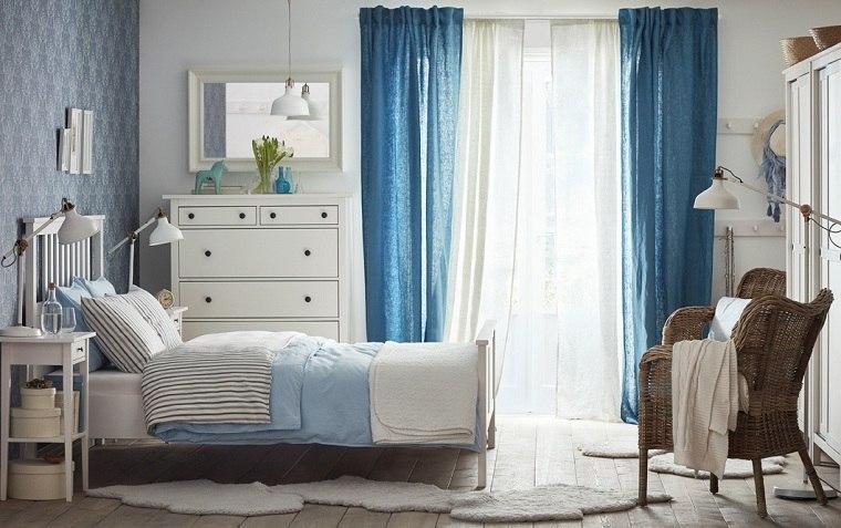 dormitorios ikea los mejores dise os para el 2018. Black Bedroom Furniture Sets. Home Design Ideas