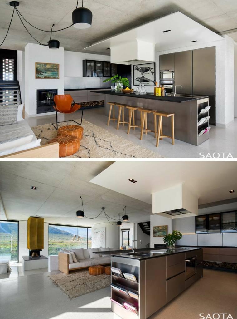 Casa frente al río Restio - un fabuloso diseño de la firma SAOTA -