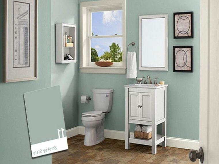 diseno de banos pequenos-color-azul