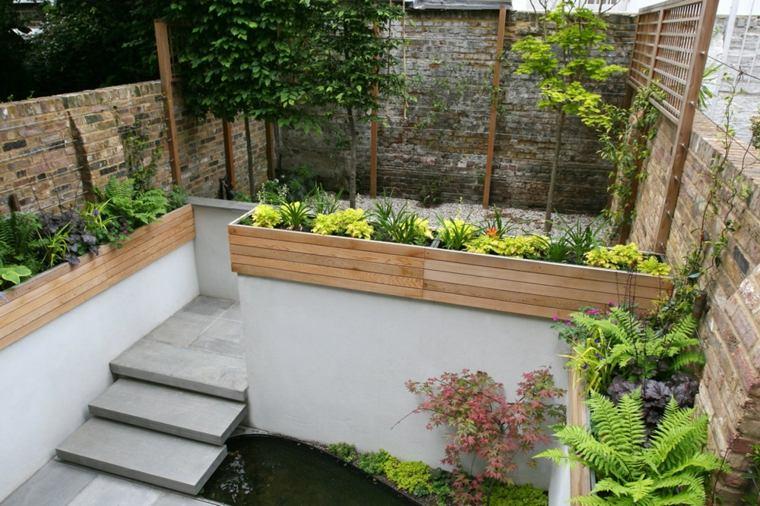 diseno de escaleras-jardines-pequenos