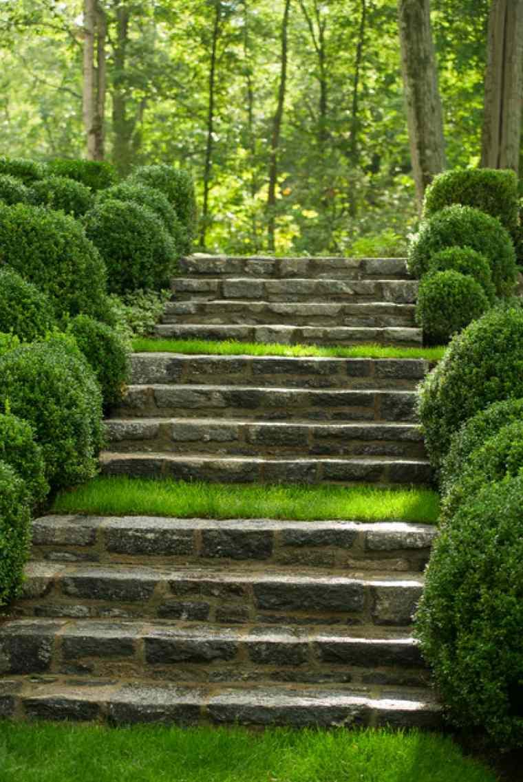diseno de escaleras-pidras-jardines