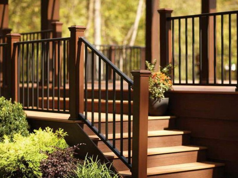 diseno de jardines-escaleras-madera
