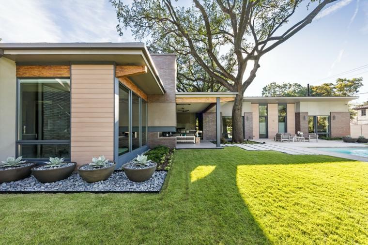 Dise o de jardines modernos y contempor neos ideas para crear un jard n incre ble - Diseno de jardines modernos ...