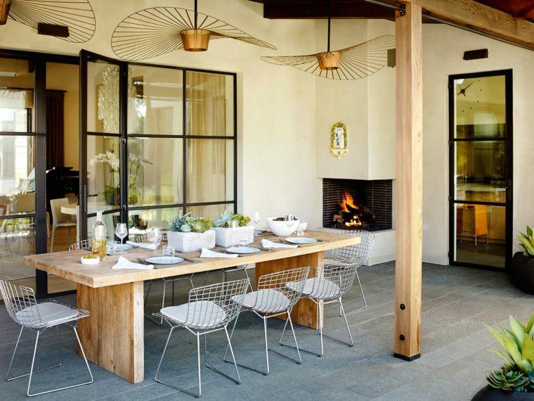 diseño de jardines modernos-opciones-esteriores