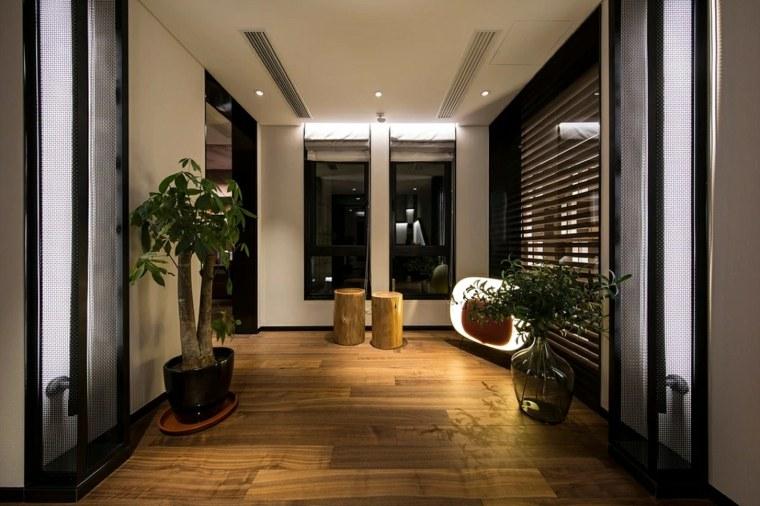 pasillo de diseño moderno