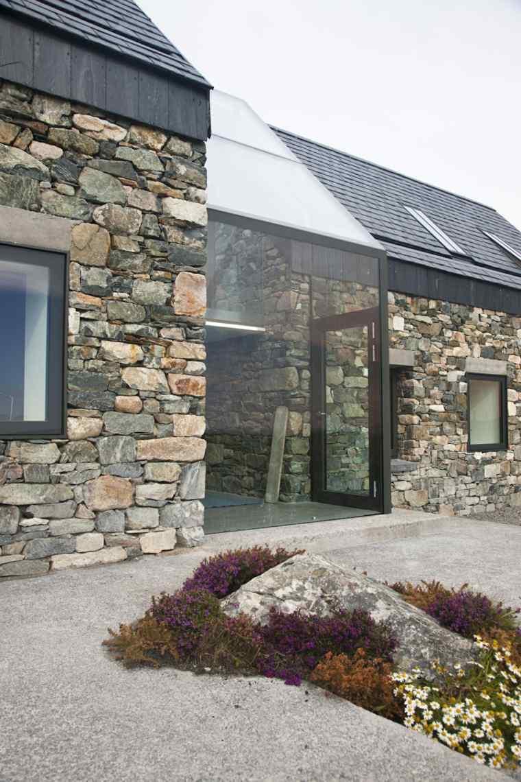Fachadas de piedra natural el exterior tambi n cuenta - Fachadas de piedra natural ...