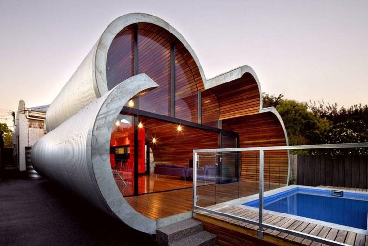 casa de una planta de estilo minimalista