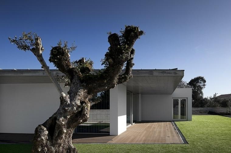 disenos-de-casas-de-un-piso-2-a2-arquitectos-exterior-jardin-estilo